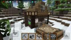 Winter Craft 3 Mine Build Kingdom screenshot 3/3