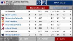 MLB Manager 2015 great screenshot 2/6
