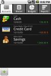 Financisto screenshot 1/1
