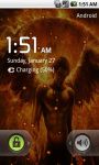 Flame Angel Live Wallpaper screenshot 5/5