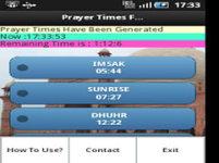 Pray Alert Times screenshot 4/6