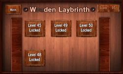 Wooden Labyrinth screenshot 1/5