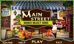 Free Hidden Object Games - Main Street screenshot 1/4