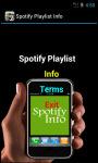 Spotify Playlist Info screenshot 2/4