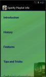 Spotify Playlist Info screenshot 3/4