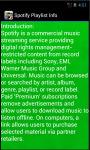 Spotify Playlist Info screenshot 4/4