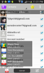 Contacts to PDF screenshot 1/6