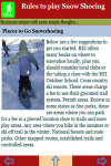 Rules to play Snow Shoeing screenshot 4/4