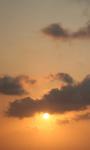Dusk In Clouds Live Wallpaper screenshot 2/4