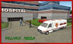 Truck Pizza Delivery 2016 screenshot 2/3