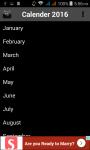 Calendar New screenshot 2/4