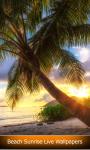 Beach Sunrise Live Wallpapers screenshot 1/6