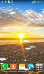 Beach Sunrise Live Wallpapers screenshot 2/6