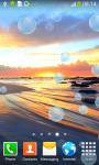 Beach Sunrise Live Wallpapers screenshot 3/6