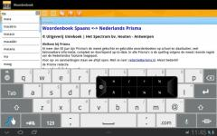 Woordenboek Spaans active screenshot 3/4