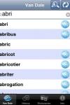 Van Dale Dutch <-> French Pocket dictionary screenshot 1/1