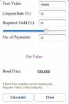 Bond Calculator screenshot 1/1