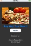 Any Way You Slice It Pizza Calculator screenshot 1/1