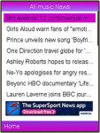 Music News Lite screenshot 4/4
