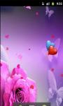 Butterfly Pink Live Wallpaper screenshot 1/5