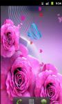 Butterfly Pink Live Wallpaper screenshot 2/5