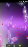 Butterfly Pink Live Wallpaper screenshot 3/5