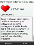 How much love are you in today  screenshot 1/3