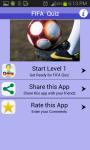 Unofficial FIFA Quiz World Cup screenshot 1/4