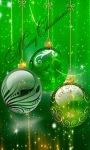 Green Christmas Live Wallpaper screenshot 1/3
