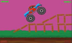 Funny Truck Race  screenshot 1/1