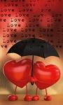 Love Rain LWP screenshot 1/3