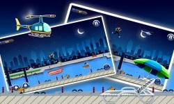 Amateur Lady Run : Moon Night Escape Challenge screenshot 2/3
