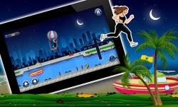 Amateur Lady Run : Moon Night Escape Challenge screenshot 3/3