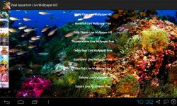 Real Aquarium Live Wallpapers screenshot 1/4
