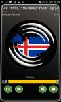 Radio FM Iceland screenshot 2/2