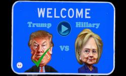 Trump vs Hillary Crazy Run screenshot 1/6
