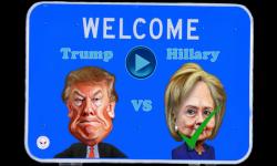 Trump vs Hillary Crazy Run screenshot 2/6