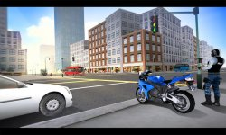 Police Motorcycle Simulator 3D screenshot 2/4