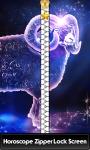 Horoscope Zipper Lock Screen screenshot 1/6