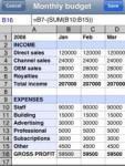 Spreadsheet screenshot 1/1