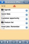 Meeting Notes screenshot 1/1