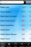 Radio Ecuador - Alarm Clock + Recording screenshot 1/1