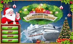 Free Hidden Object Games - Christmas Cruise screenshot 1/4
