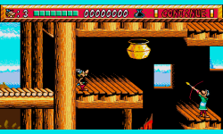 Asterix and the Power of The Gods original game screenshot 4/4