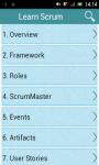 Learn Scrum screenshot 1/3