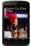 Rules To Play Chess Boxing screenshot 1/3