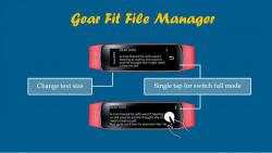 Gear Fit File Manager primary screenshot 5/5