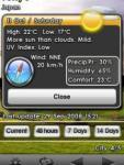 Deluxeware Weather screenshot 1/1
