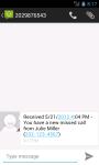 Missed Call Messenger Lite screenshot 1/6