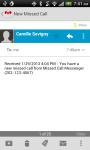 Missed Call Messenger Lite screenshot 2/6